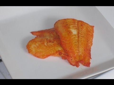 Cómo freír pescado sin huevos y harina