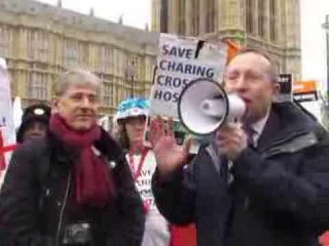 Andy Slaughter MP fighting to save the Hospitals in West London