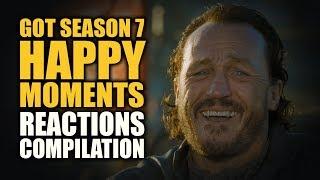 GoT SEASON 7 HAPPY MOMENTS Reactions Compilation
