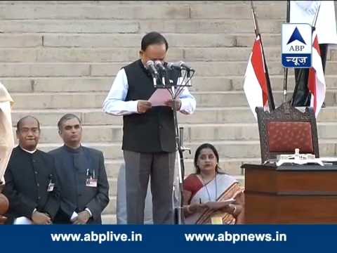 Dr. Harsh Vardhan  takes oath as a Minister