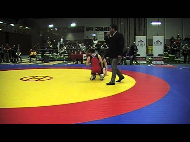 2014 Senior National Championships: 58 kg Cholena Horne vs. Victoria Day