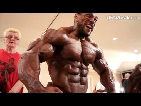 2012 IFBB PBW Tampa Pro Men's Pump Room Part 2