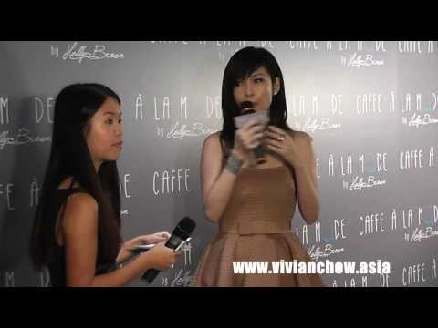 13.11.12-周慧敏@Caffe À La Mode by Holly Brown Grand Opening