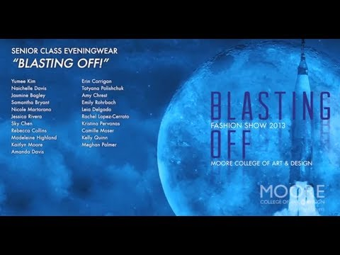 06 Eveningwear // 2013 Moore Fashion Show // Blasting Off!