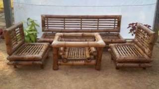 Bamboo Furniture in India.wmv