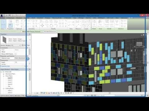 BIMobject® Steni Facade cladding System for Revit: Step by Step Tutorial