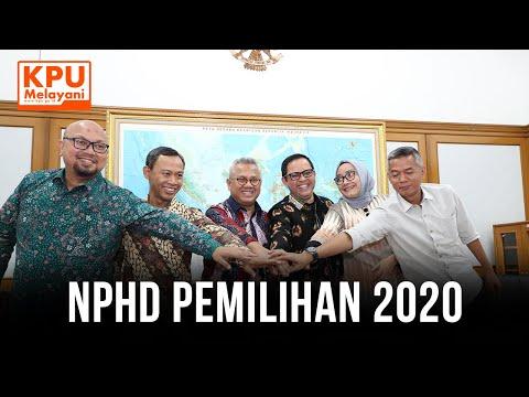 Konferensi Pers Terkait NPHD Pemilihan 2020