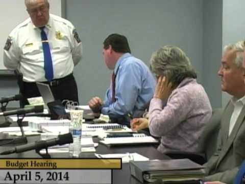 Enfield, CT, USA - Town Council - Budget Hearings FY 14/15 - April 5, 2014 part 1
