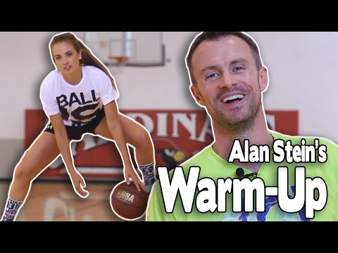 PRE-GAME WARM-UP ROUTINE | featuring Alan Stein | Stronger Team & Shot Science Basketball