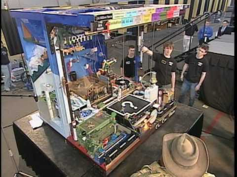 Purdue team submits world record claim for Rube Goldberg Machine