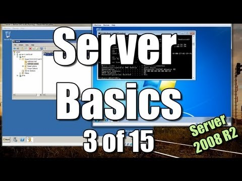 Server Basics (3) | Setup DHCP | Join Client To Domain
