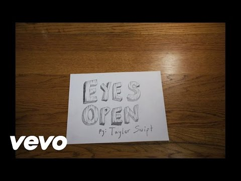 Taylor Swift - Eyes Open (Lyric Version), Music video by Taylor Swift performing Eyes Open. (C) 2012 Big Machine Records, LLC. Buy it Now! http://smarturl.it/eyesopenit