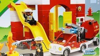 Fire Station / Remiza Strażacka 6168 Lego Duplo