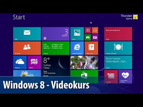 Windows 8 - Der PC-WELT-Videokurs: Die Neuheiten von Windows 8.1 | deutsch / german