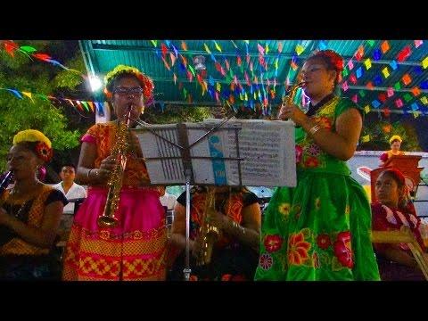 Encuentro de Bandas de Música del Istmo de Tehuantepec en Comitancillo, Oaxaca