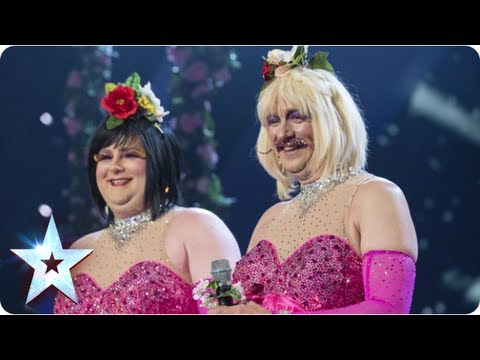Bosom Buddies sing 'Time To Say Goodbye' | Semi-Final 1 | Britain's Got Talent 2013
