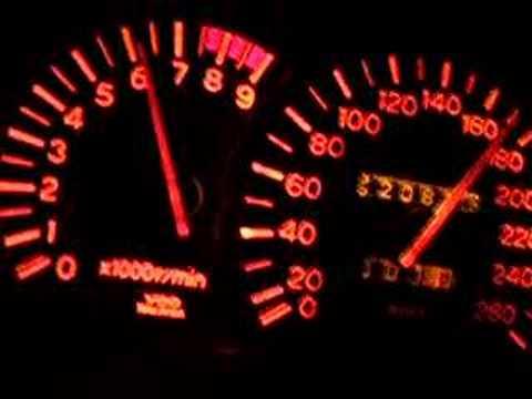 Stock 4G93 0-200km/h
