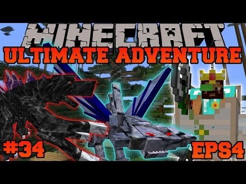 Minecraft: Ultimate Adventure - INTENSE RARE MOBS! - EPS4 Ep. 34 - Let's Play Modded Survival