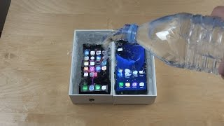 iPhone 7 vs. Samsung Galaxy S7 Water Freeze Test 10 Hours! What Will Happen?!