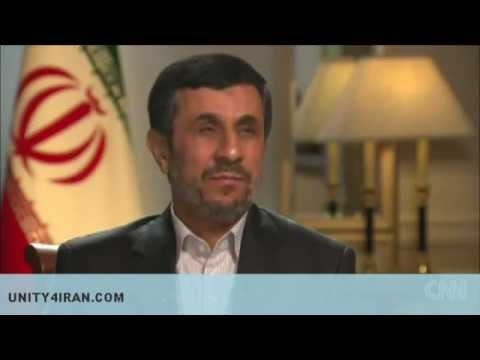 CNN Interview with Iran's president Mahmoud Ahmadinejad, 23 Sep 2012
