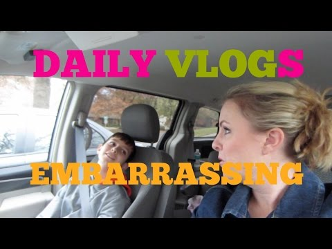 EMBARRASSING PARENTS, PRETEEN WOES | DAILY VLOGS