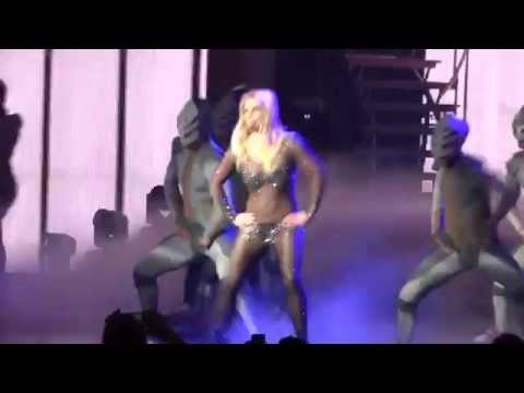 Work Bitch live Britney Spreas  VEGAS 02/04 first raw HD