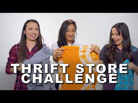 Thrift Store Challenge - Merrell Twins w/JazminWhitley