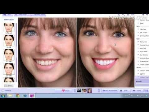Facil programa para retocar y maquillar fotos cara en for Programa para disenar closets online