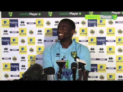 Jonny Howson's car interrupts Bassong