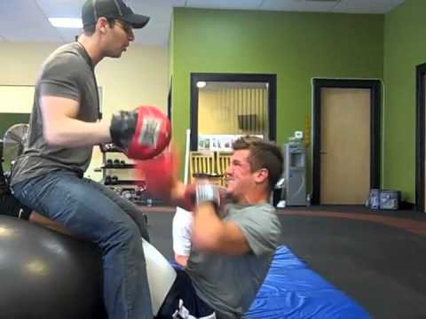 Aaron Rodgers & Jordan Rodgers - Off Season Workout
