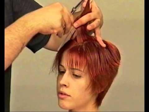 Короткие стрижки женские в парикмахерской