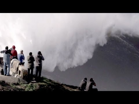 Tow-in session | January 28th in Nazare, Portugal