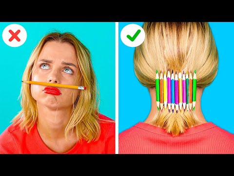 FUNNY SCHOOL SUPPLY DIYS || How to Sneak Gummy Food in Class with 123 GO! GOLD!