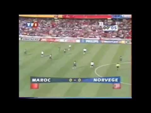 Maroc - Norvège 1998 résumé