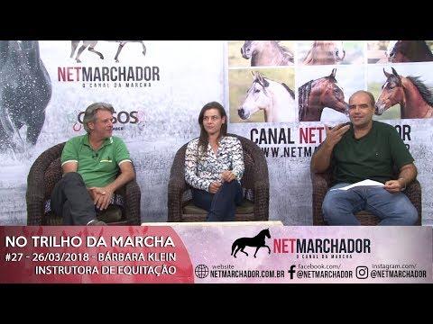 #27 - NO TRILHO DA MARCHA - BÁRBARA KLEIN - INSTRUTORA DE EQUITAÇÃO - MANGALARGA MARCHADOR HD