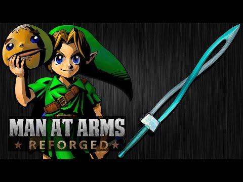 Link's Fierce Deity Sword (Legend of Zelda: Majora's Mask) - MAN AT ARMS: REFORGED