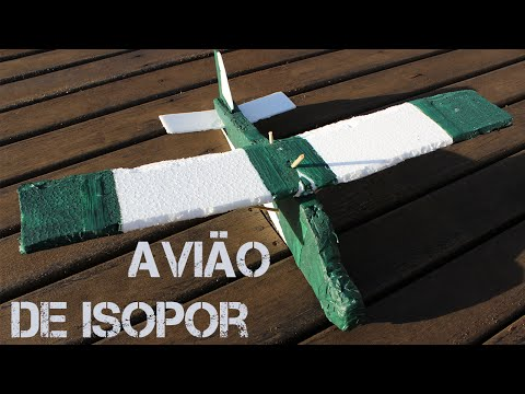 Como Fazer um Avião Planador de Isopor (Passo a Passo)