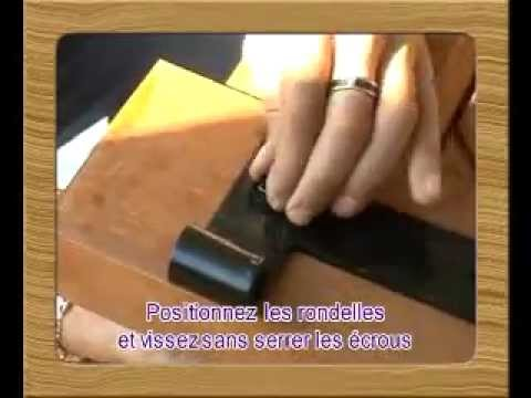 pose pentures sur portail bois jamwood youtube. Black Bedroom Furniture Sets. Home Design Ideas