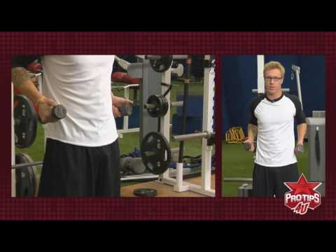 Pitching Tips: Shoulder Exercises with Mike Foltynewicz