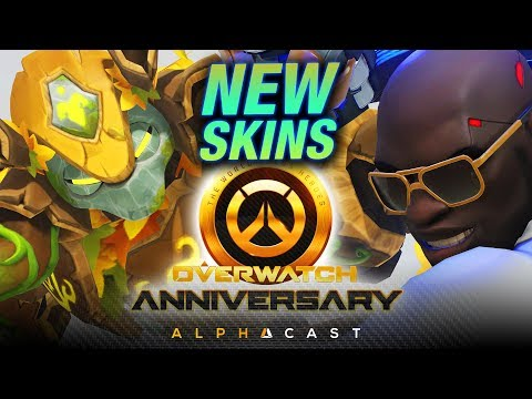 Les Nouveaux Skins Anniversary ! ► Overwatch Découverte Event