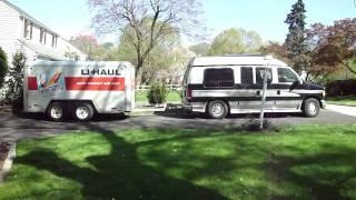 U-Haul Trailer For CDL Yard Practice