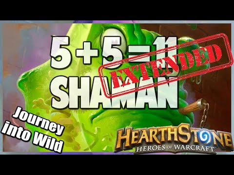 5 + 5 = 11 Shaman KnC | Extended Gameplay | Hearthstone | Kobolds and Catacombs