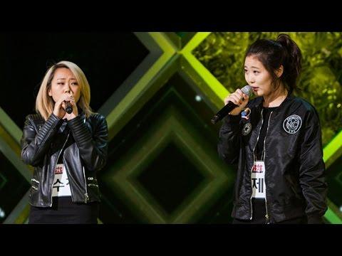 《HOT》KPOP STAR 5 K팝스타5|Lee Soo Jung & Yoo Jei 이수정 & 유제이 - Part-Time Lover EP11 20160131