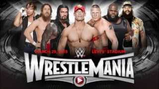 WWE WrestleMania 31 Dream Match Cards