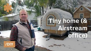 Colorado portable tiny house + Airstream-ish portable office