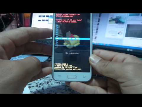 samsung G360F Galaxy Core Prime hard reset