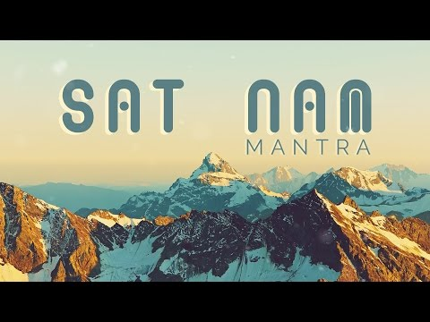 KUNDALINI MANTRA for AWARENESS || SAT NAM Mantra Meditation with Meaning
