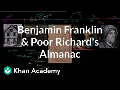 Benjamin Franklin and Poor Richard's Almanac