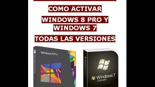 Como Activar Windows 8.1 Pro 2014 Y Windows 7 Agosto 2014