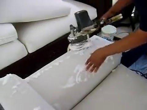 Limpieza de sofas en seco